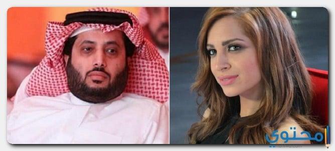 آمال ماهر وزوجها السعودي