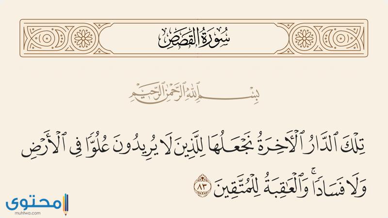 آيات قرآنية عن التواضع
