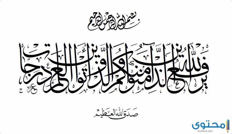 آيات قرآنية عن العلم