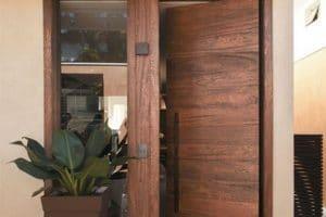 ابواب منازل خشبية للداخل والخارج 2018