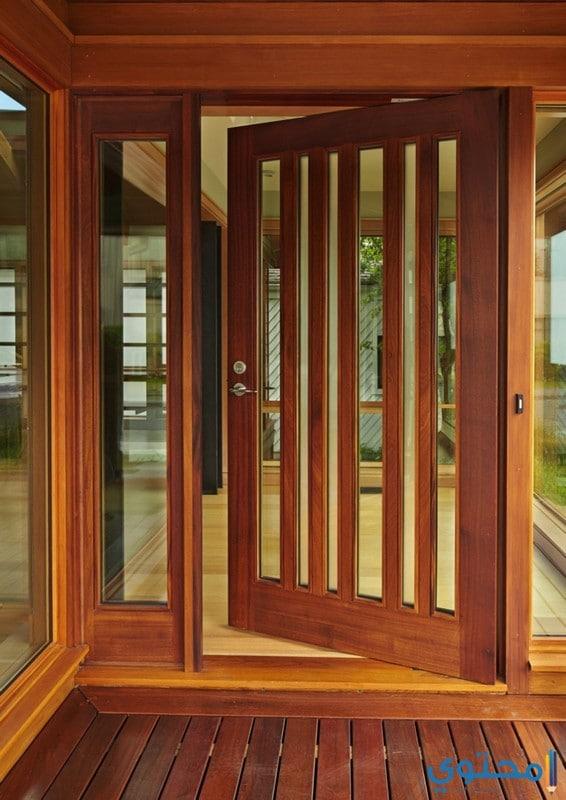 أبواب خشبية داخلية فخمة