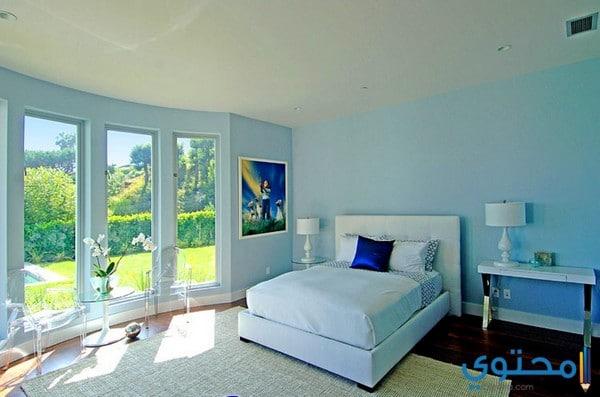 ألوان دهانات لغرفة النوم حديثة