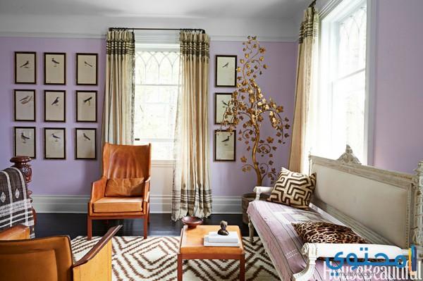 ألوان دهانات لغرفة الصالة