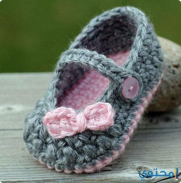 أحذية كروشية حديثة