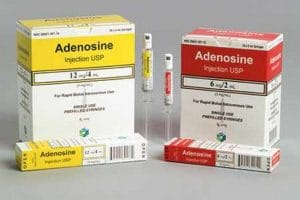 أدينوسين Adenosine لعلاج سرعة ضربات القلب