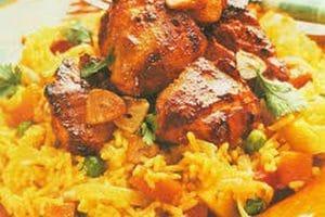 طريقة عمل الأرز الأصفر باللحمة