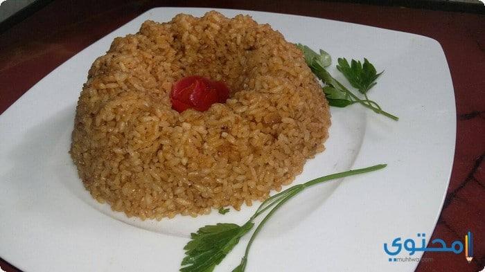 أرز السمك بالطماطم