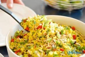 بالصور طريقة عمل الأرز بالخضروات