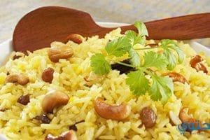 طريقة عمل أرز بالخلطة باللحمة المفرومة
