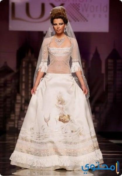 فستان الزفاف من تصميم زاكي بن عبود