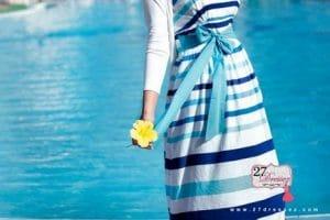 ملابس محجبات للشاطىء صيف 2018