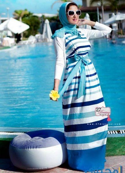 1ea291dec ملابس محجبات للشاطىء صيف 2019 - موقع محتوى