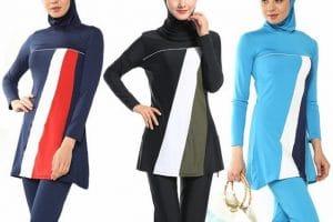 تصاميم مايوهات بحر للمحجبات 2018