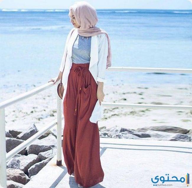 a5c8a2bd72844 ملابس محجبات للشاطىء صيف 2019 - موقع محتوى