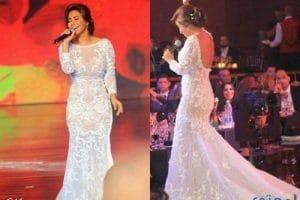 أزياء شيرين عبد الوهاب 2018