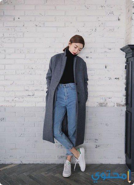 أزياء كورية لفصل الشتاء