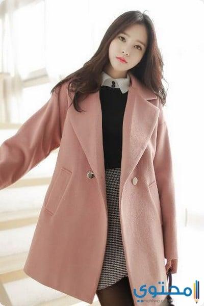 أزياء شتوية كورية