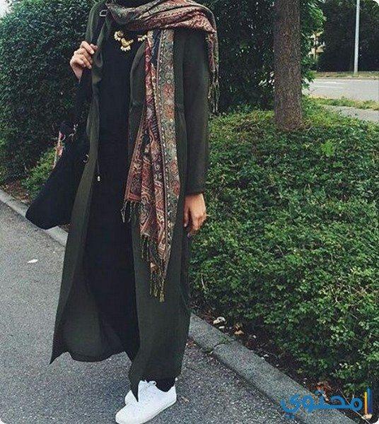 أزياء محجبات شتوي