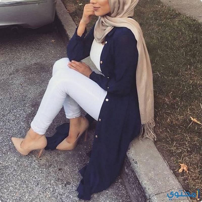 ملابس للمحجبات تركية حديثة