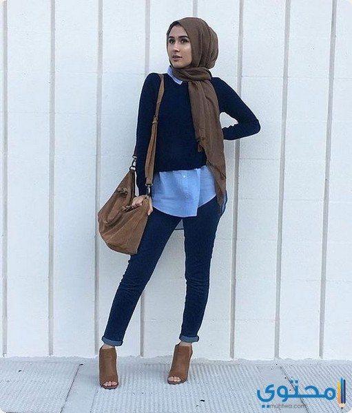ملابس محجبات بسيطة وشيك