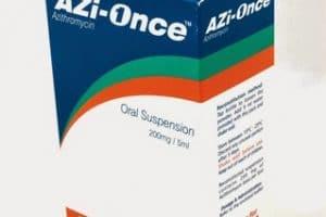 أزي ونس AZi Once مضاد حيوي واسع المجال