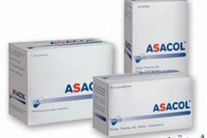 أساكول أقراص Asacol لعلاج التهابات المستقيم