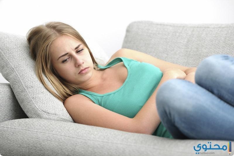 أعراض احتباس الدورة الشهرية