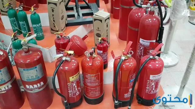 أسعار طفايات الحريق