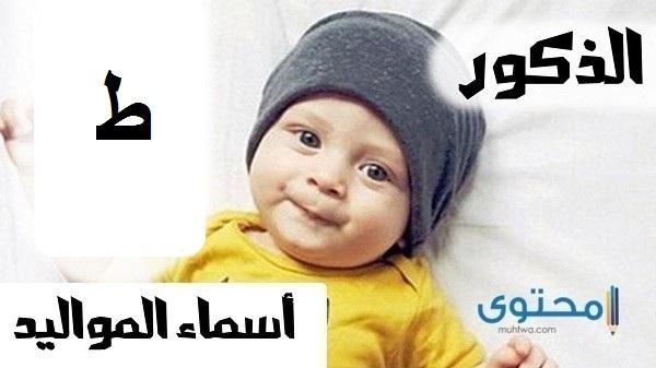 أسماء أولاد بحرف الطاء