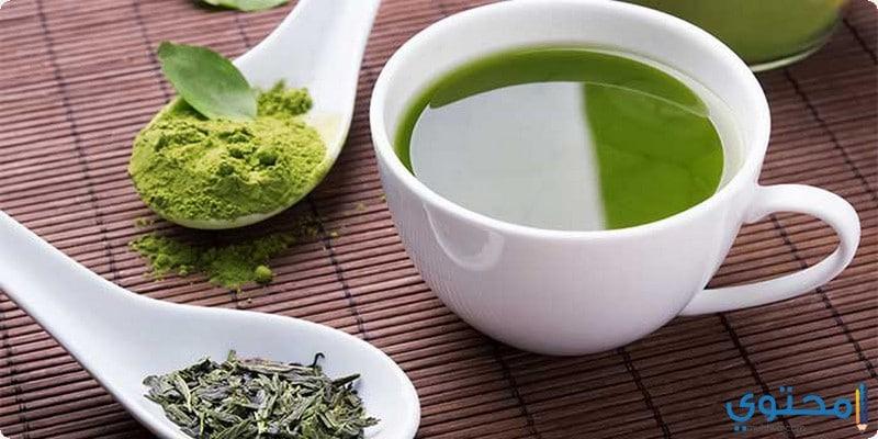 أسباب مضار الافراط فى تناول الشاى الاخضر