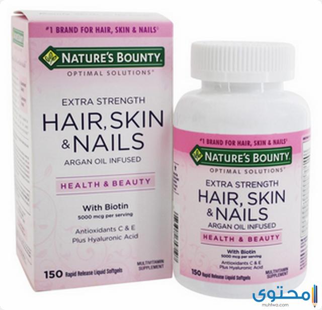 أضرار حبوب hair skin nails