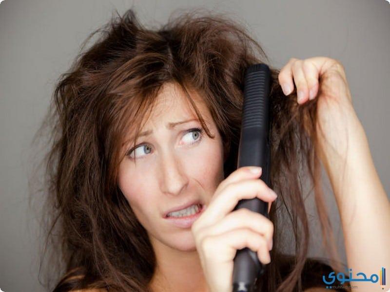 اهمية فرد الشعر بالبروتين