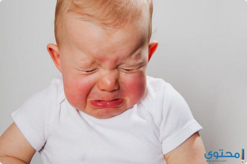 مضار فرط البكاء عند الاطفال