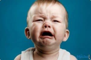 أضرار كثرة بكاء الأطفال