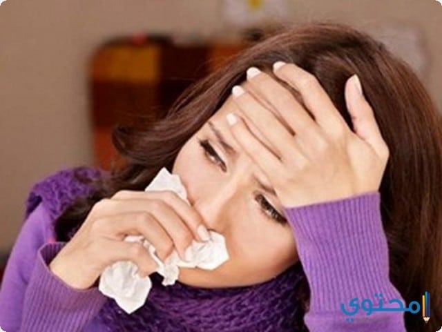 أعراض البرد والإنفلونزا