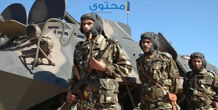 أغلفة الجيش الجزائري للفيس بوك وتويتر