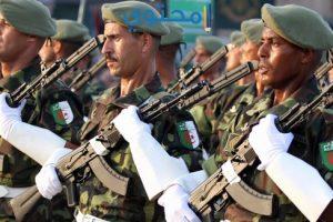 كفرات وأغلفة الجيش الجزائري للفيس بوك وتويتر