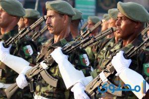 أفضل الكلمات والأشعار عن الجيش الجزائري