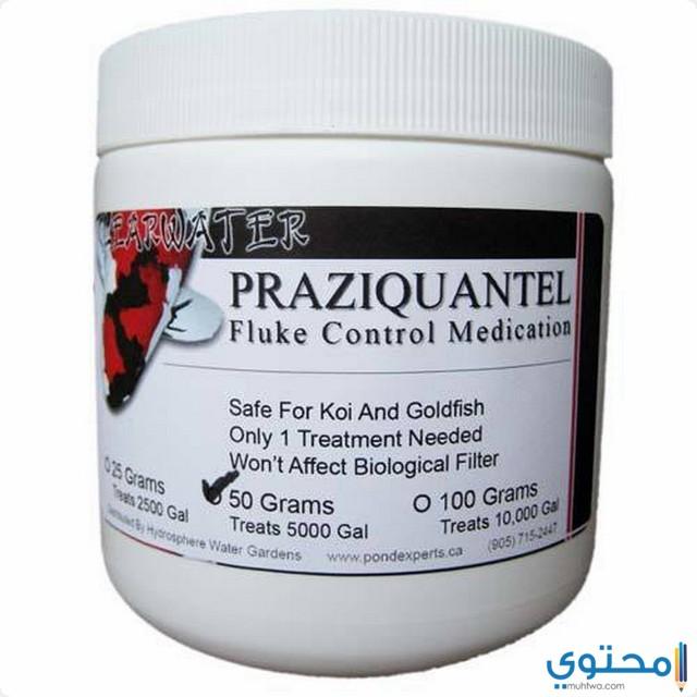 احتياطات وتحذيرات عند استخدام أقراص برازيكوانتيل