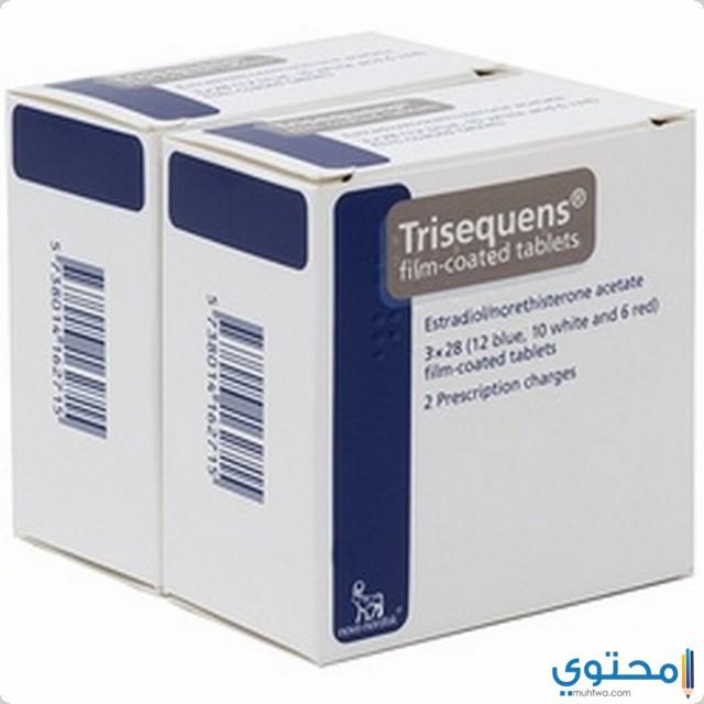 دواعي استخدام أقراص تريسيكوينس