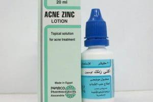أكنى زنك لوسيون Acne Zinc Lotion لعلاج حب الشباب