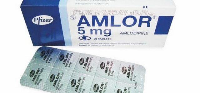 أملور Amlor لعلاج ضغط الدم المرتفع
