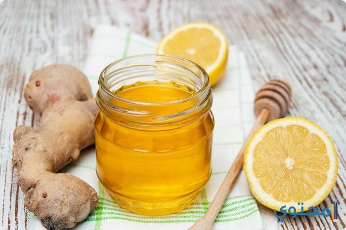 فوائد الزنجبيل مع العسل على الريق