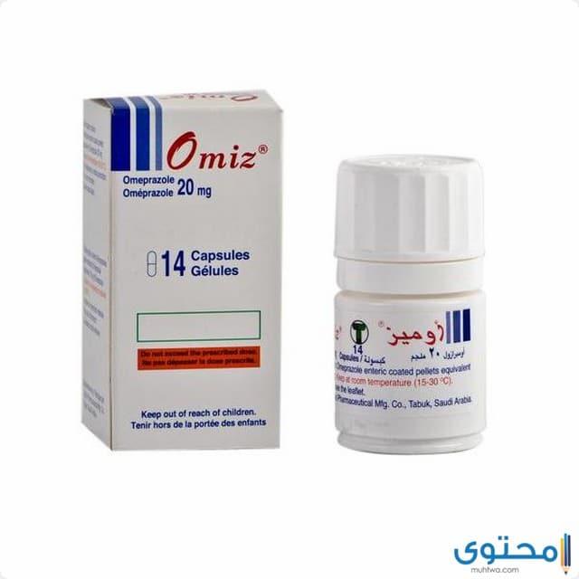 دواعي الاستعمال لدواء أوميز 20