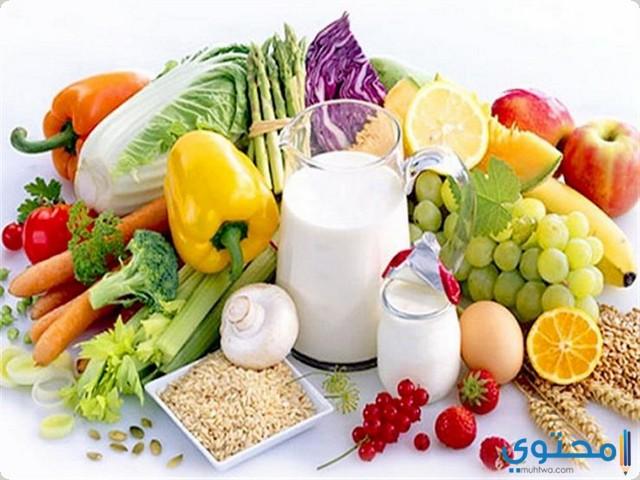 مصادر الغذائية للكالسيوم