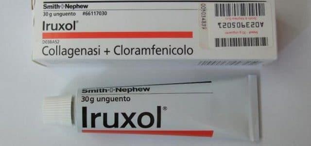 إيروكسول Iruxol لعلاج الجروح والحروق والتقرحات