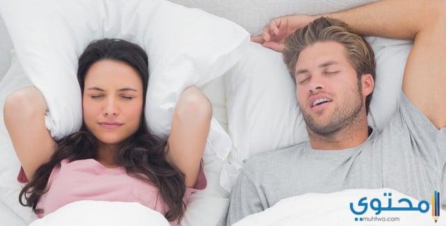 نوم الزوجين في غرف منفصلة