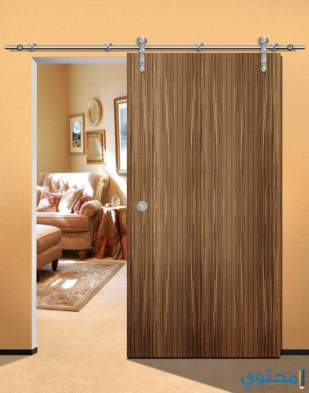 أبواب خشبية داخلية جرار