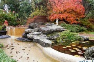 ديكور حدائق فلل