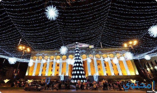 احتفالات تبليسي في رأس السنة